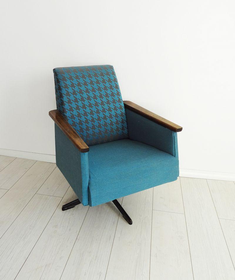 reDesign obrotowy fotel PRL od kolorum