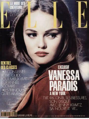 Vanessa Paradis for Elle France (August 1992)