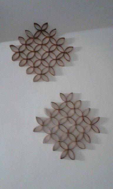 Decoraci n con rollos de papel higi nico pinteres - Decoracion con rollos de papel higienico ...
