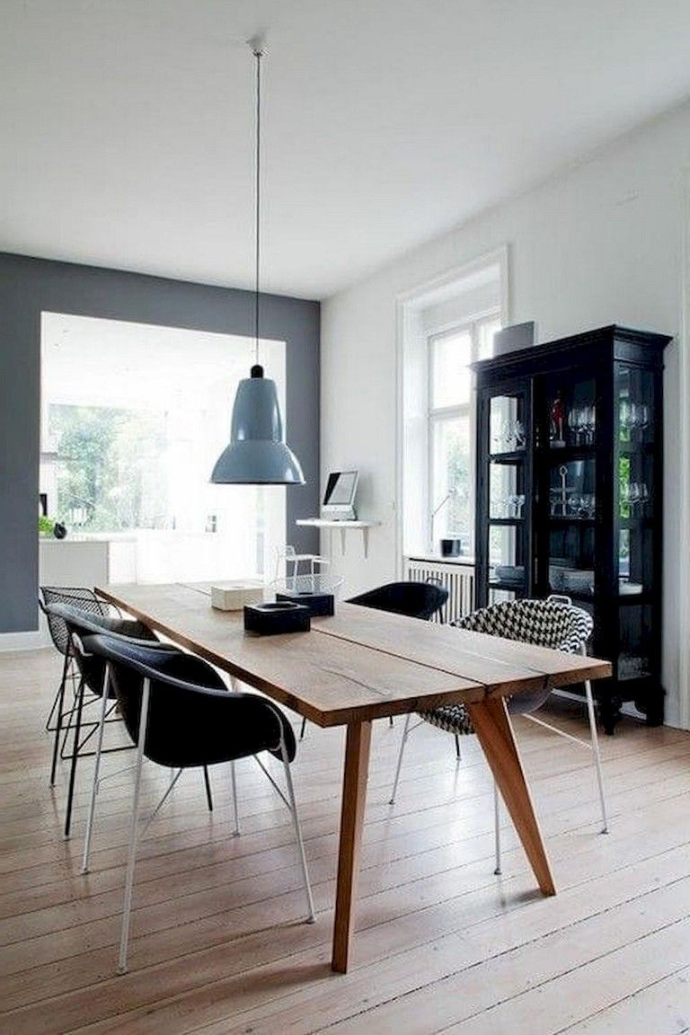 55 Awesome And Subtle Home Office Scandinavian Design Ideas