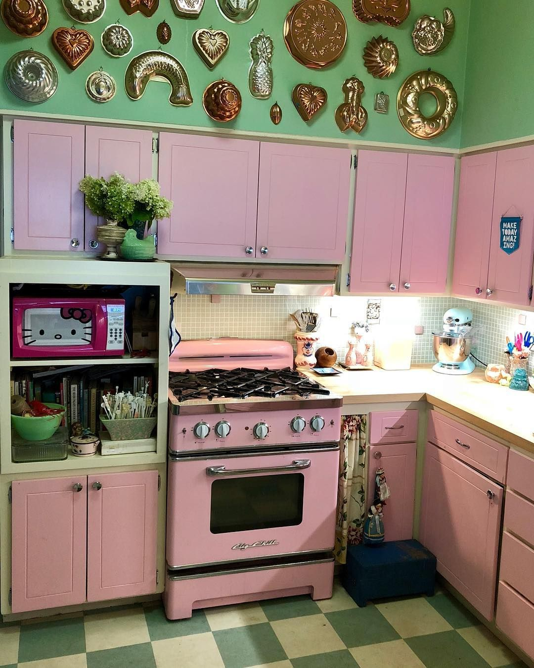 this is my kitschy kitchen.  Kitschy kitchen, Home decor, Retro