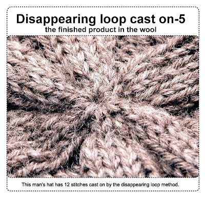 Knitting How To Cast On Stitches In The Middle Of A Row : Knitting: casting on from the middle--disappearing loop method. Yarn - Knit...