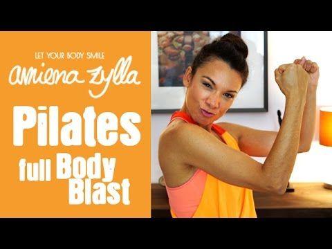 Total Body Pilates Workout - Übungen für einen straffen Körper mit Amiena Zylla - YouTube #pilatesworkout