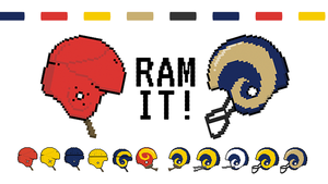 L A Rams Plan To Keep Current Uniforms Until 2019 Camping In North Carolina Los Angeles Rams How To Plan