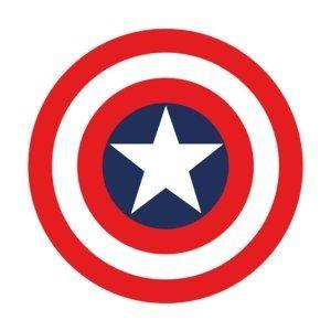 Escudo Del Capitan America Dibujo Buscar Con Google Capitan
