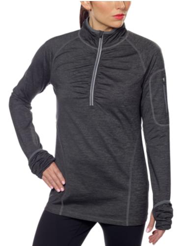 Kirkland Signature Ladies' Active ¼ Zip Pullover - Gray