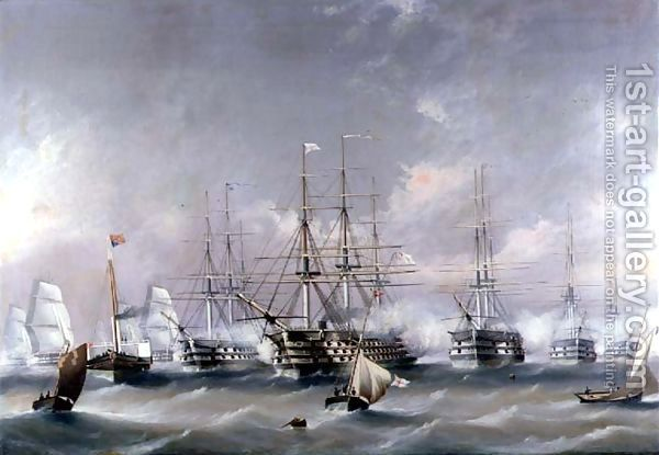 Naval Review By B Spencer Richard