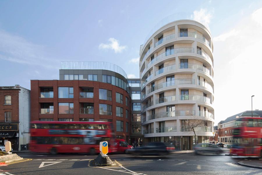 Dma David Miller Architects Gateway House In 2020 Architect 3d Architectural Visualization Waitrose Supermarket