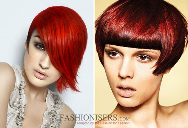 Hair red glam color ideas for women video