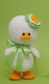 Photo of Amigurumi-Ente für Ostern – Häkelanleitung via Makerist.de #häkeln #häkelanl…