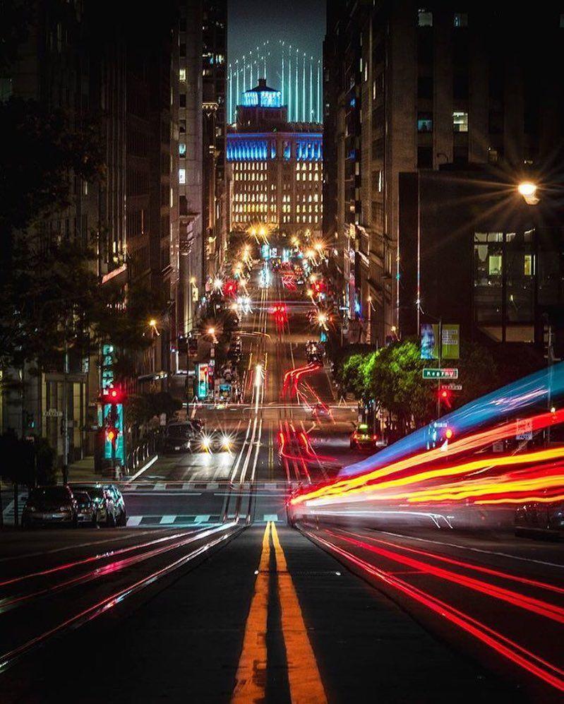 Sanfranciscofeelings San Francisco At Night Francisco City