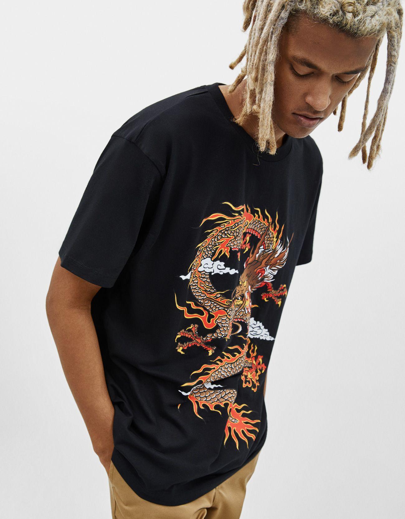 venta caliente real comprar oficial disfruta el precio de liquidación Camiseta con estampado dragón | MOTHER OF T-SHIRTS ...
