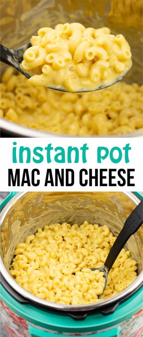 Instant pot mac and cheese recipe – make homemade insanely creamy mac and cheese in just 10 minutes! I'm never making mac and cheese another way again! #instantpot #instantpotrecipes #instantpotmacandcheese #macandcheese #dinner #easyrecipe #instantpotrecipes