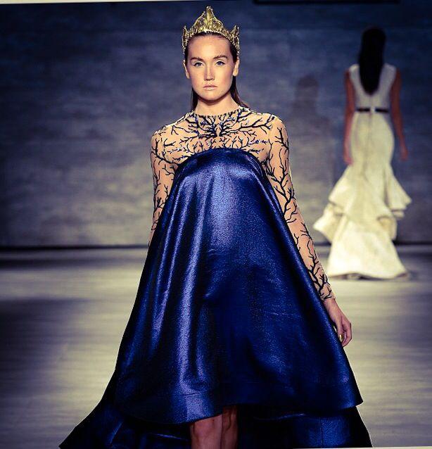 During Mercedes Benz fashion week. Michael Costello.