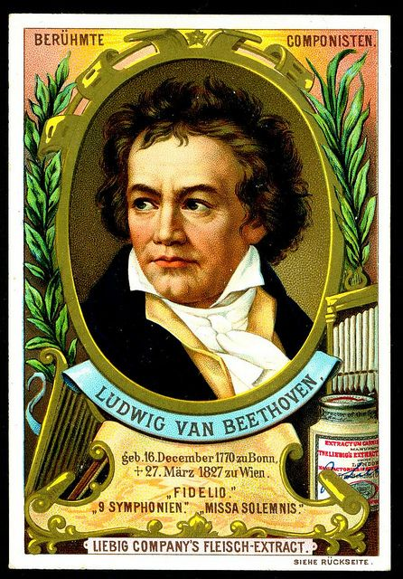 Beethoven Composer Trading Cards... Not Fur Elise... For ...
