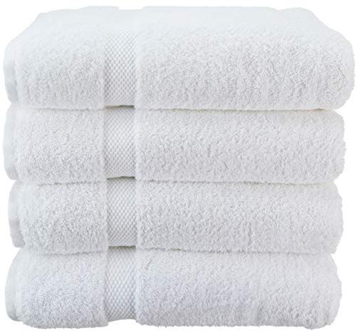 Wealuxe Cotton Bath Towels Soft And Absorbent Hotel Towel