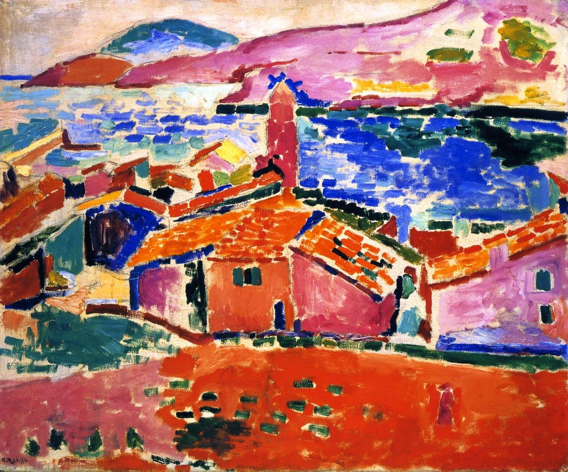 Matisse View Of Collioure Art Modern Pinterest
