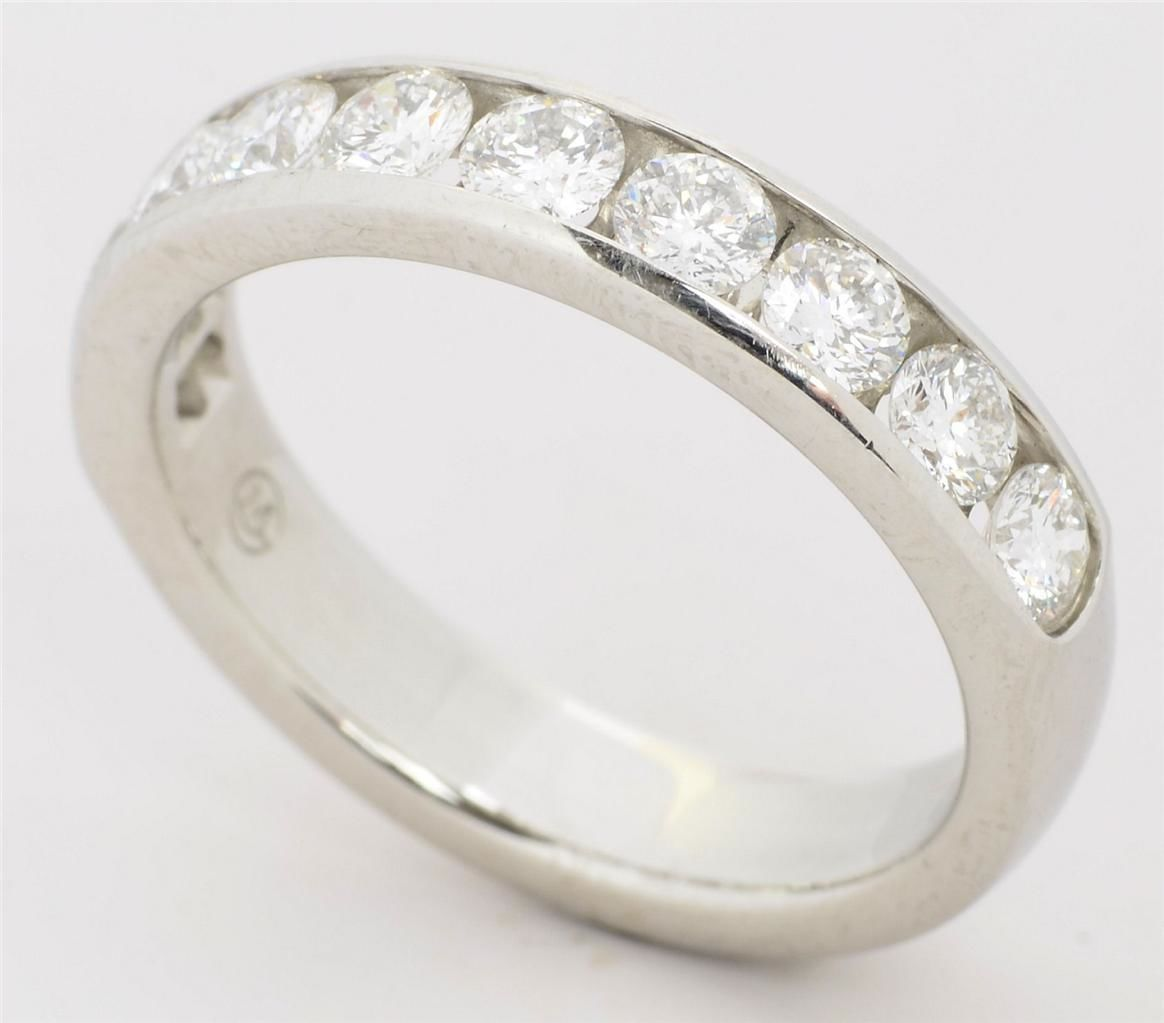 Platinum Movado Diamond Anniversary Band 100cttw GVS Rings