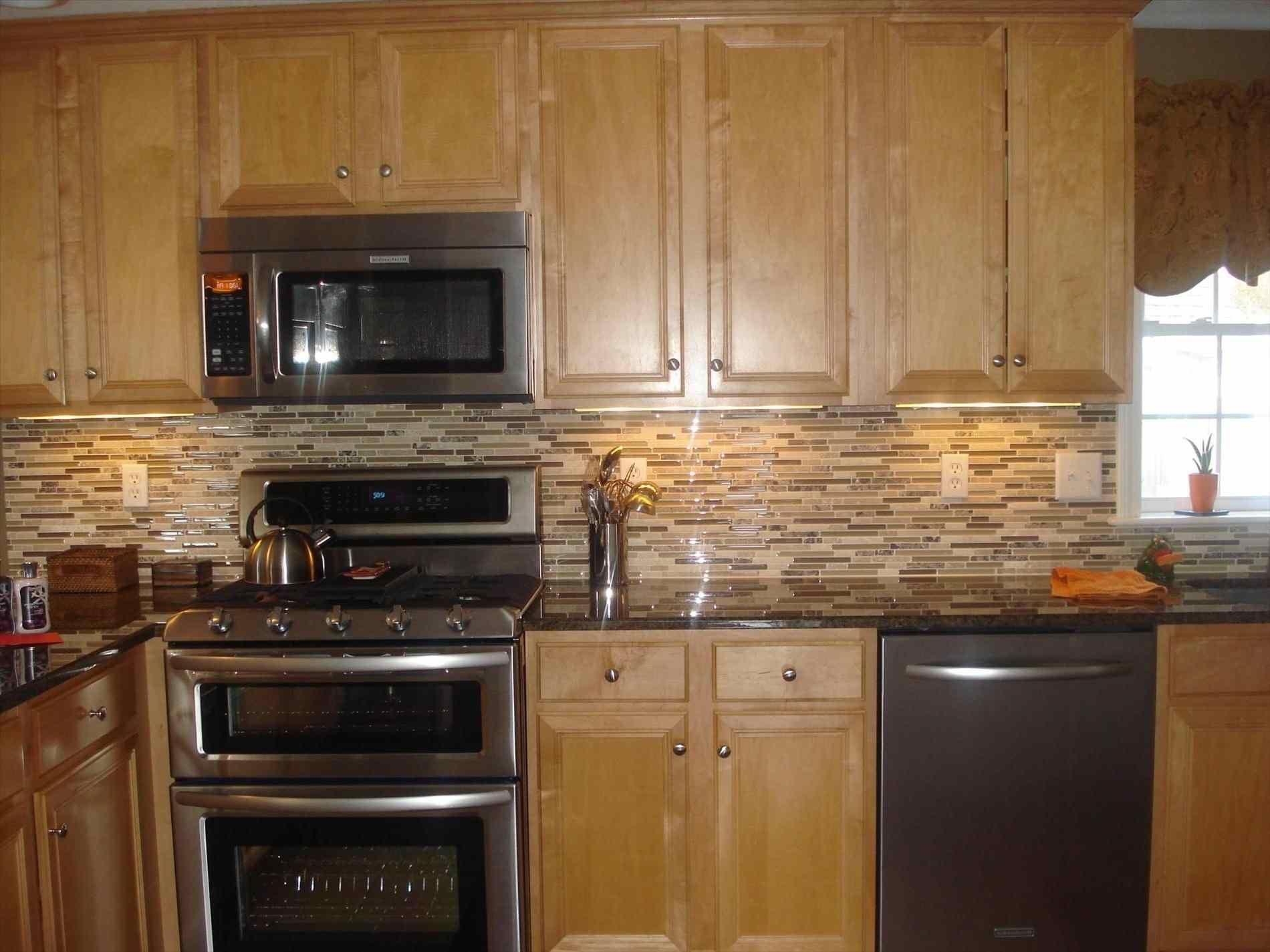 light oak cabinets dark countertops   DeducTour.com ... on Backsplash Maple Cabinets With Black Countertops  id=97461