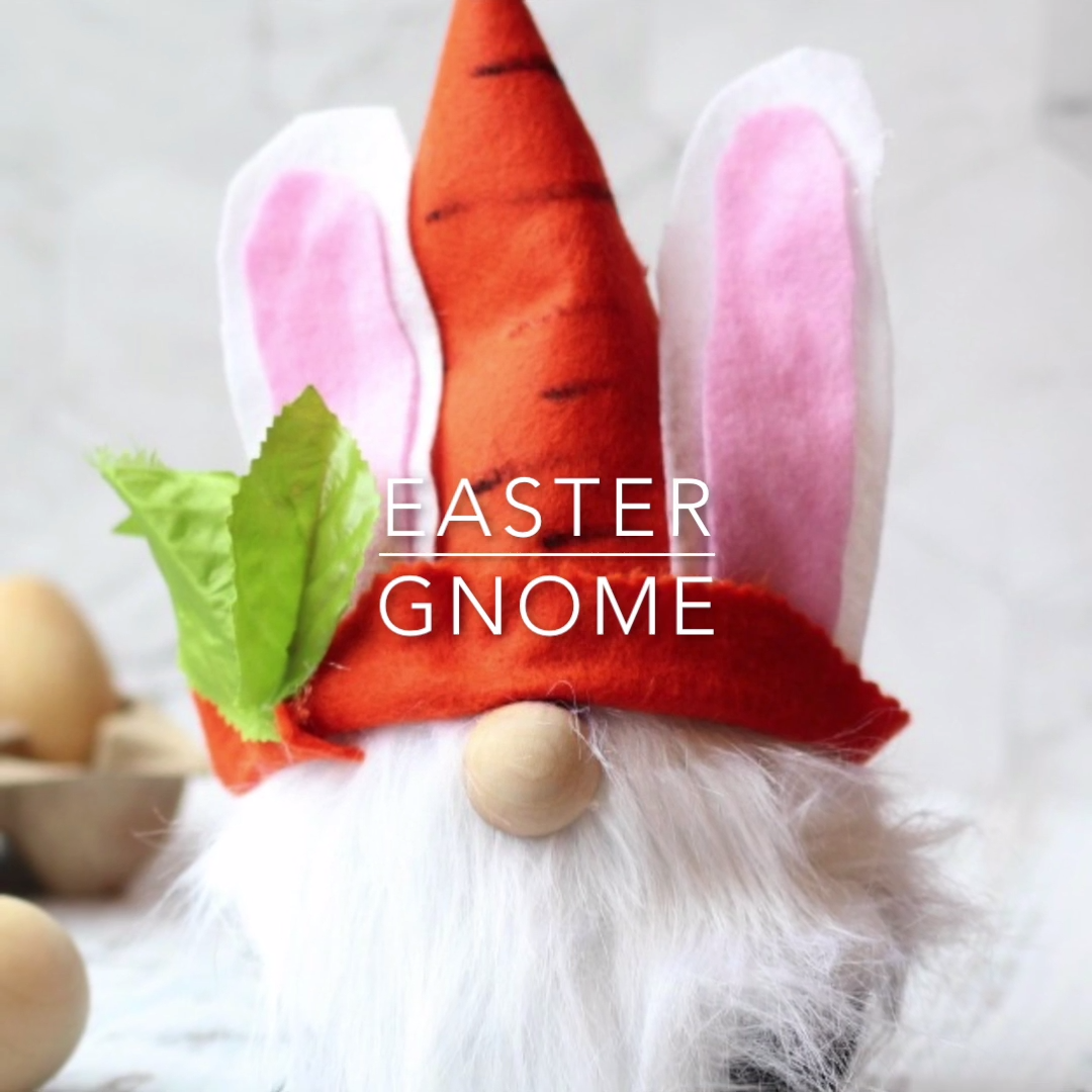 Easter Bunny Gnome - The Perfect Easter Gnome DIY ...