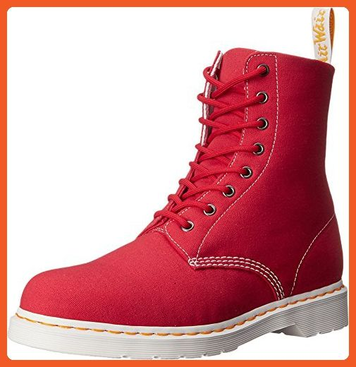 Eye Boot True Red Canvas Boot UK
