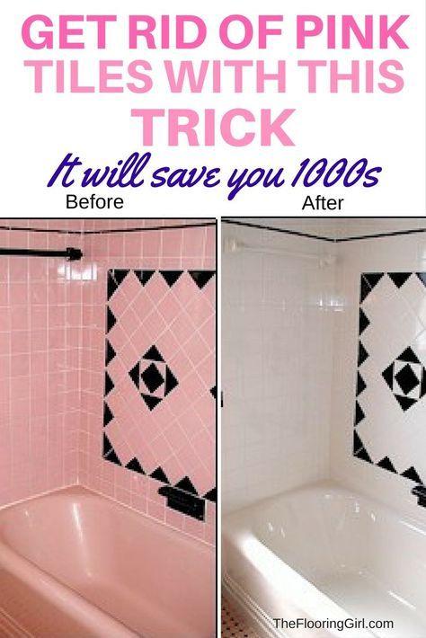 Pink Bathroom Tiles Tile Reglazing, Reglaze Bathroom Tile