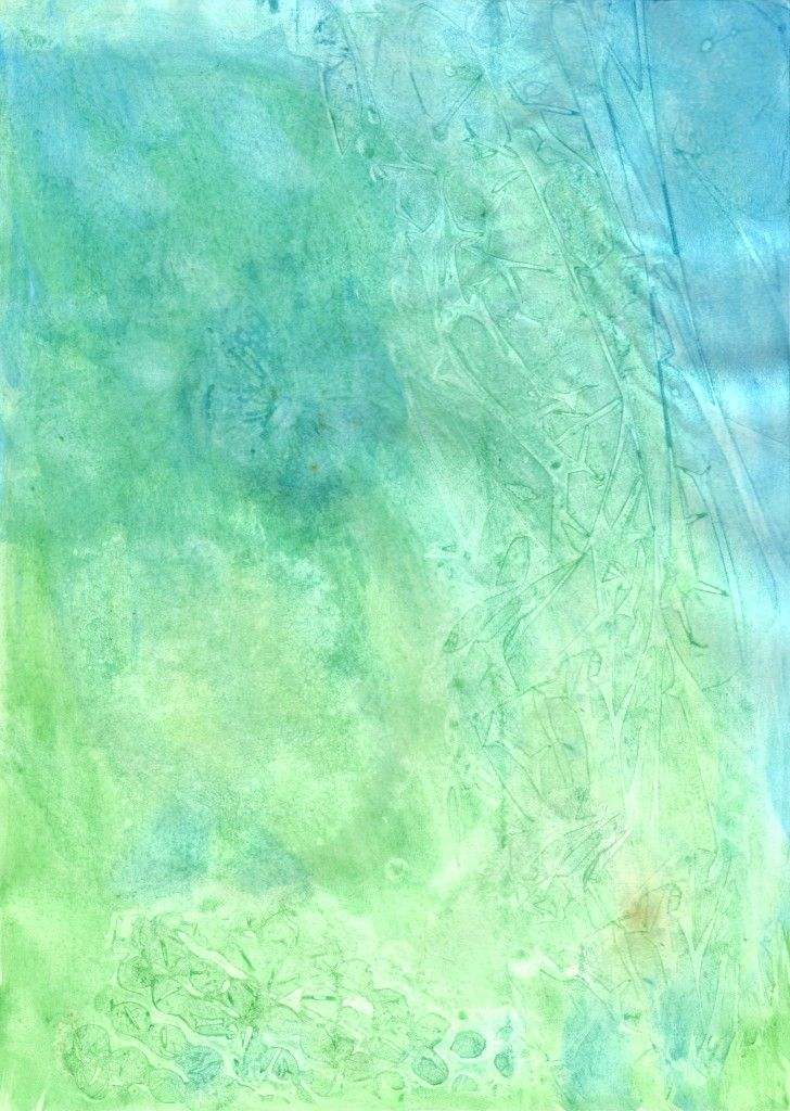 Free Watercolor Texture Blue Green Watercolour Texture