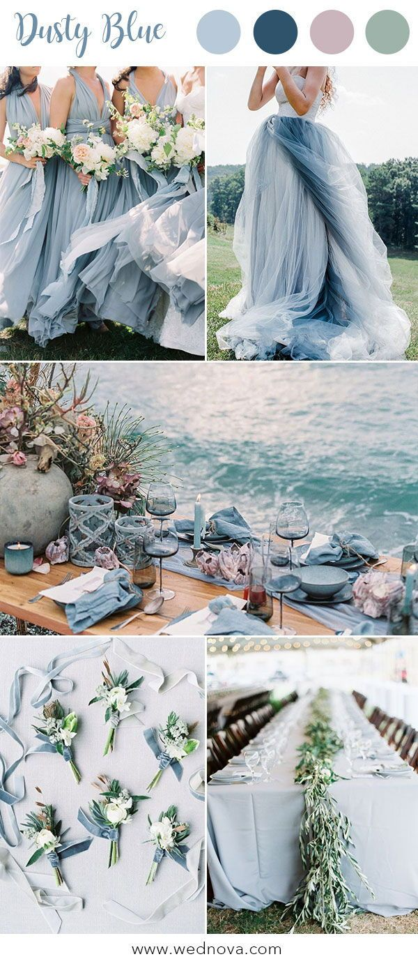 10 Hot Wedding Color Palettes for 2019 Trends March
