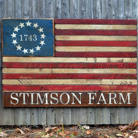 Diy This Rustic 13 Star American Flag No Tutorial Rustic American Flag Original American Flag Rustic
