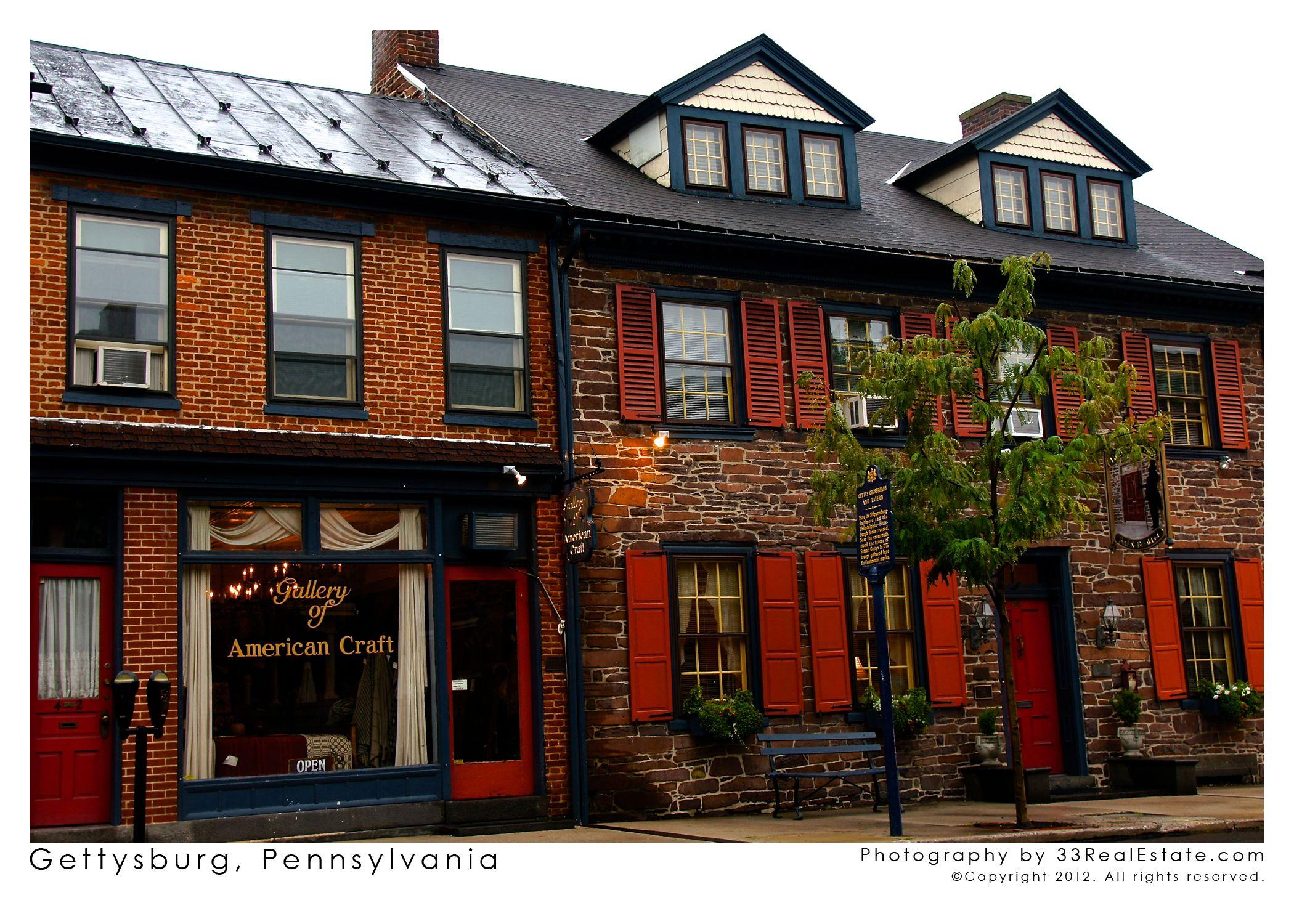 Downtown Gettysburg