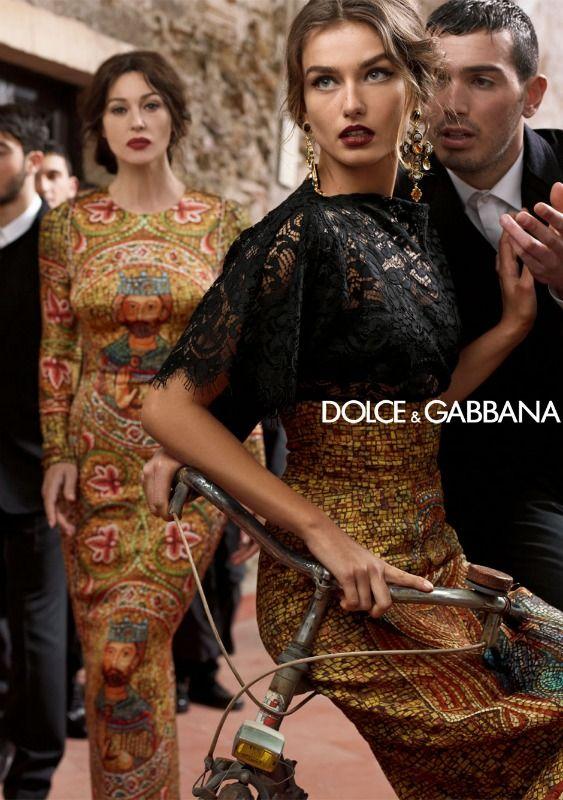 DOLCE   GABBANA WOMEN WINTER 2014 AD CAMPAIGN  e8b5df83883