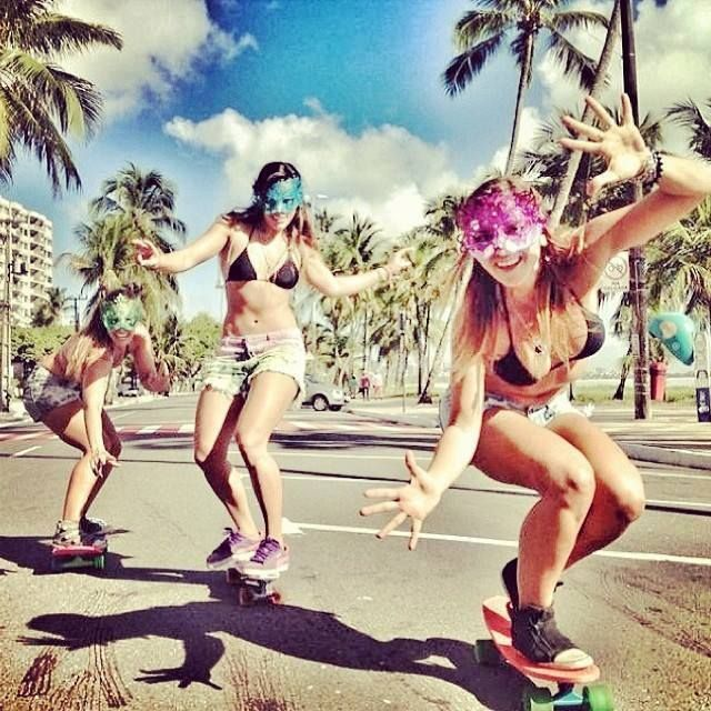 Skater chicks #skating #longboarder #skating #surfergirl #surfgirl #surf #surfing #surfer #sk8 #sk8girl #skate #skategirl #skatergirl #longboard #longboarding #lobgboarder #longgirl #shellybeach #healthy #lifestyle #cool #fun #summer #sun #sunny #beach #Longboard #Skategirls #longboardgirls #girlswholongboard #girlscanride #girlskater #surftrip #vans #beach #girls