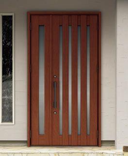 C17型 ポートマホガニー 玄関ドア リクシル 玄関ドア 玄関