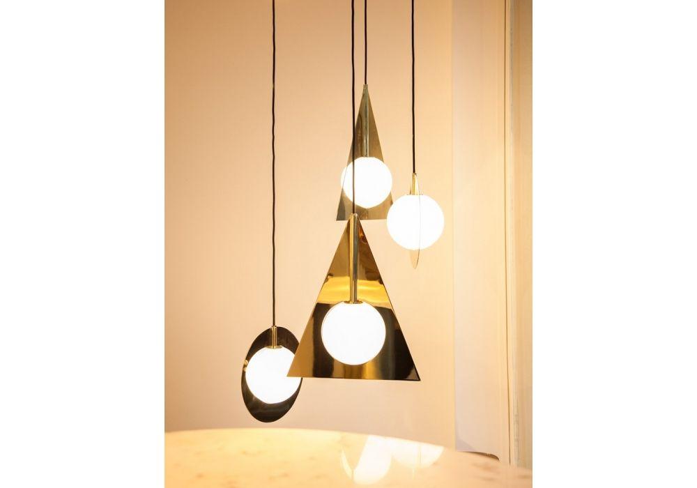Plane Triangle Pendand Lamp Tom Dixon Milia Shop Tom Dixon Standing Lamp Interior Design Inspiration