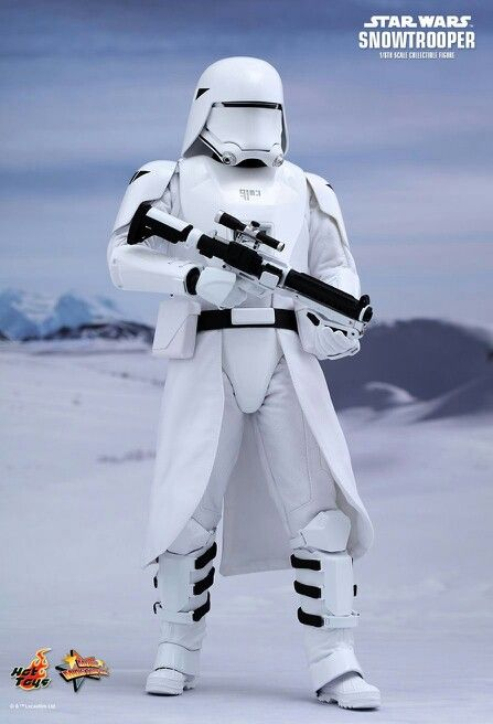 Snow Trooper. STAR WARS VII