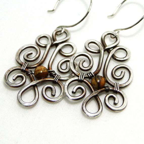 This item is not available  Sterling Silver Desert Jasper Jewelry Wire