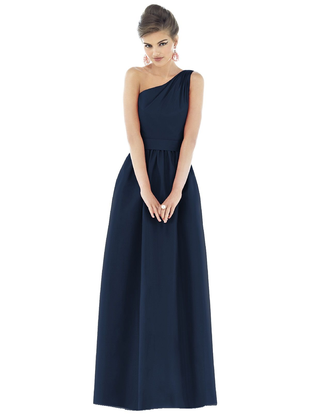 Alfred sung style d midnight blue blue dresses and alfred sung
