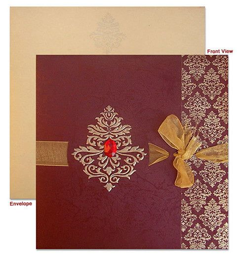 Designer Muslim Wedding Cards Muslim Wedding Cards Wedding