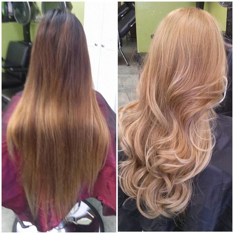 HOW TO: From Gentle Ombre to Champagne Blonde #champagneblondehair