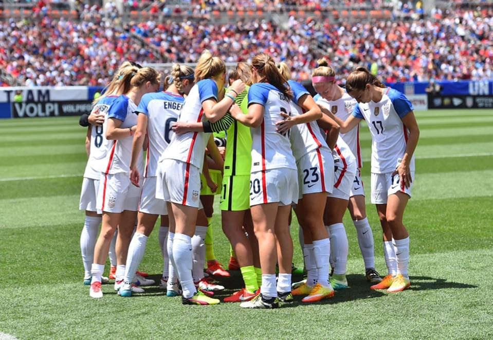 FIFA has certified that the #USWNT's #USAvJPN match on June 5 that was abandoned early due to inclement weather will count as an official match & in FIFA rankings. 99 shutouts for Hope Solo, 67 goals for Alex Morgan & 8 for Julie Johnston.