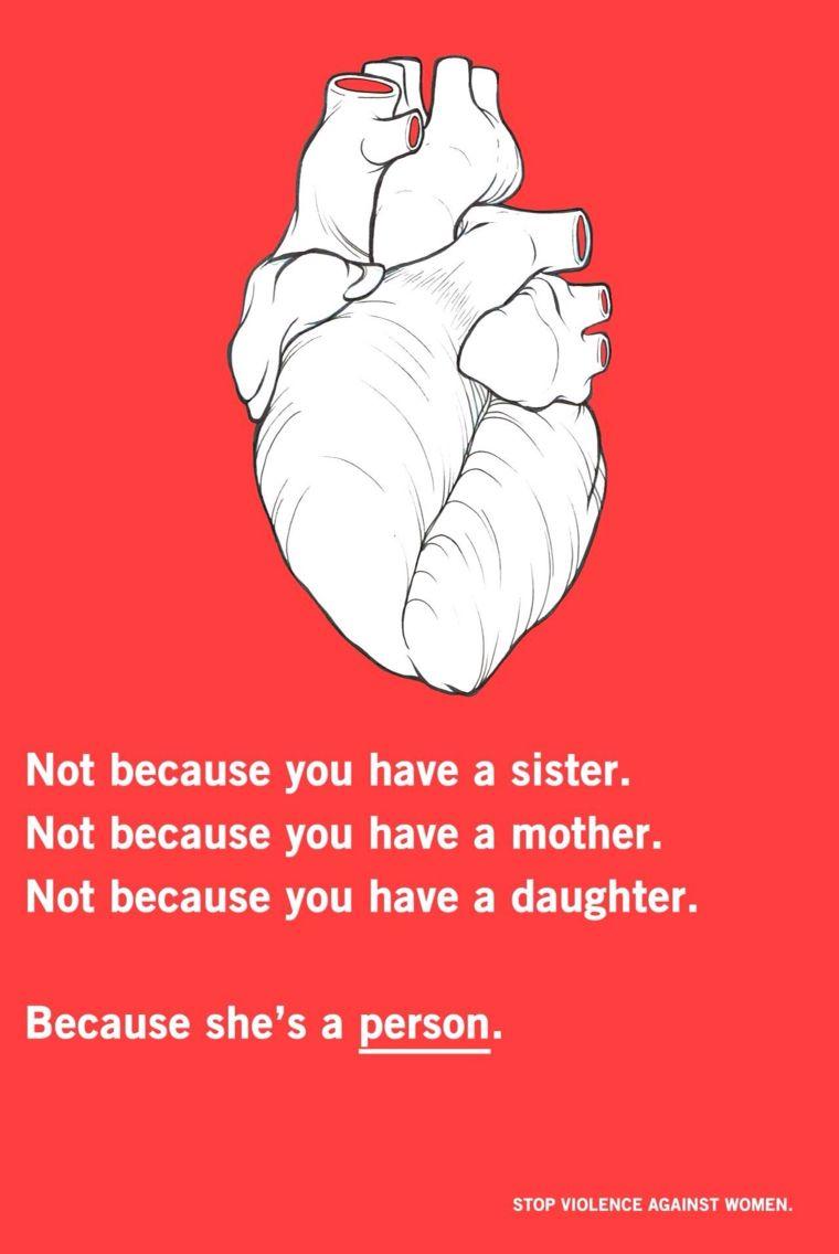 Stop violence against women Feminism Pinterest