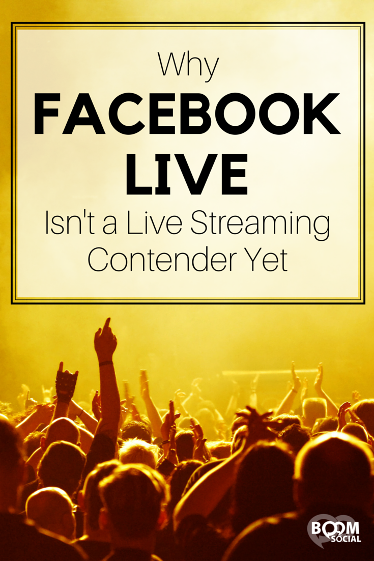 Facebook has just launched its very own live streaming app