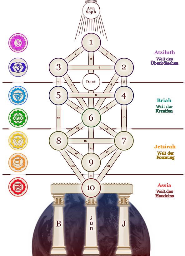 Baum des lebens kabbala Kabbala Tarot