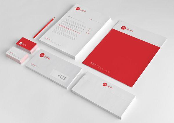 corporate identity // psd // pagnozzi solutions designmaurizio, Powerpoint templates