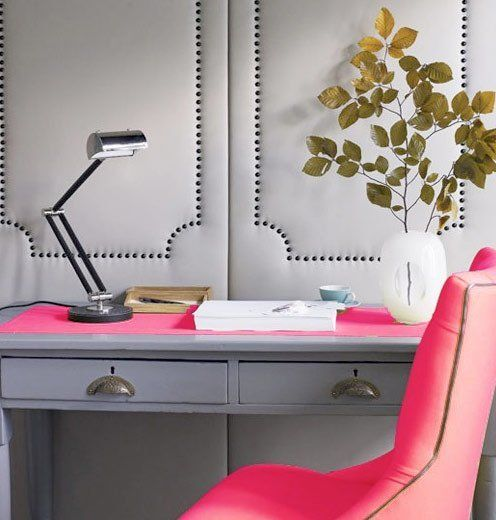 Adding Color: Neon in the Home Office