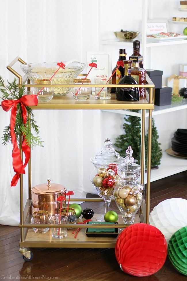 Christmas Home Party Ideas Part - 26: Naughty Or Nice Christmas Party