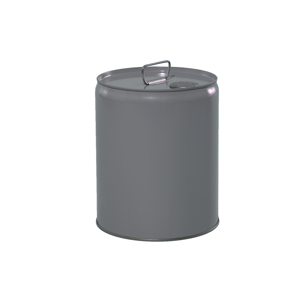 Illing Part 2200 5 Gallon Grey 24 Gauge Rfo Metal Tight Head Pail W Rust Inhibitor Lining Un Rated Tight Head Steel Pails Are Pail Metal Containers Gallon