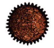 Marechal Nutella  Bolo de chocolate com cobertura de chocolate e avelã, coberto com pedaços de chocolate ao leite.  Recheado com nutella.