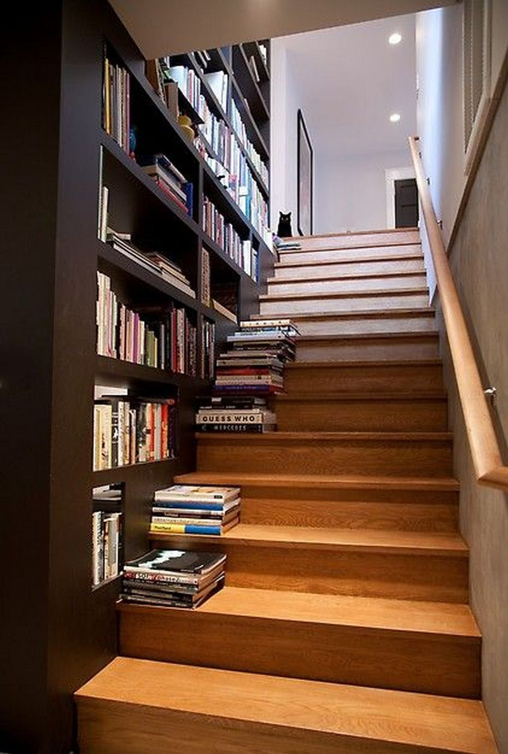 Best How To Build A Staircase Bookshelf Diy Projects For 640 x 480