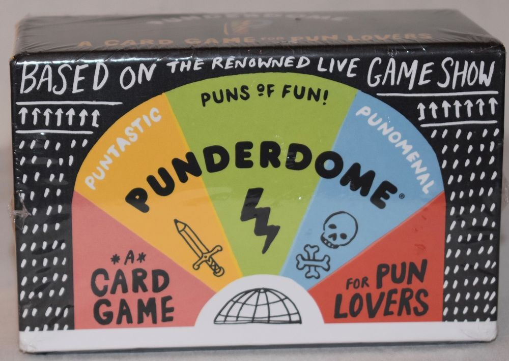 ... Punderdome: A Card Game for Pun Lovers ...